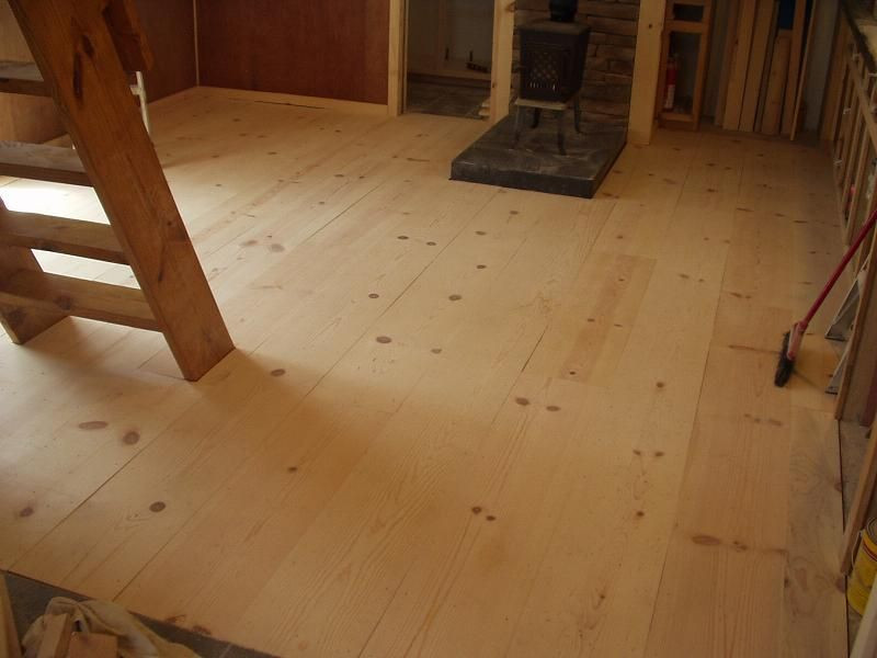 Best ideas about DIY Wood Floors Cheap . Save or Pin Considering a cheap rustic wood floor White Pine 1x12 Now.