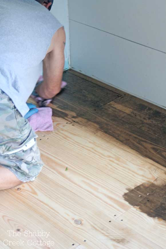 Best ideas about DIY Wood Floors Cheap . Save or Pin DIY Wood Floors Now.
