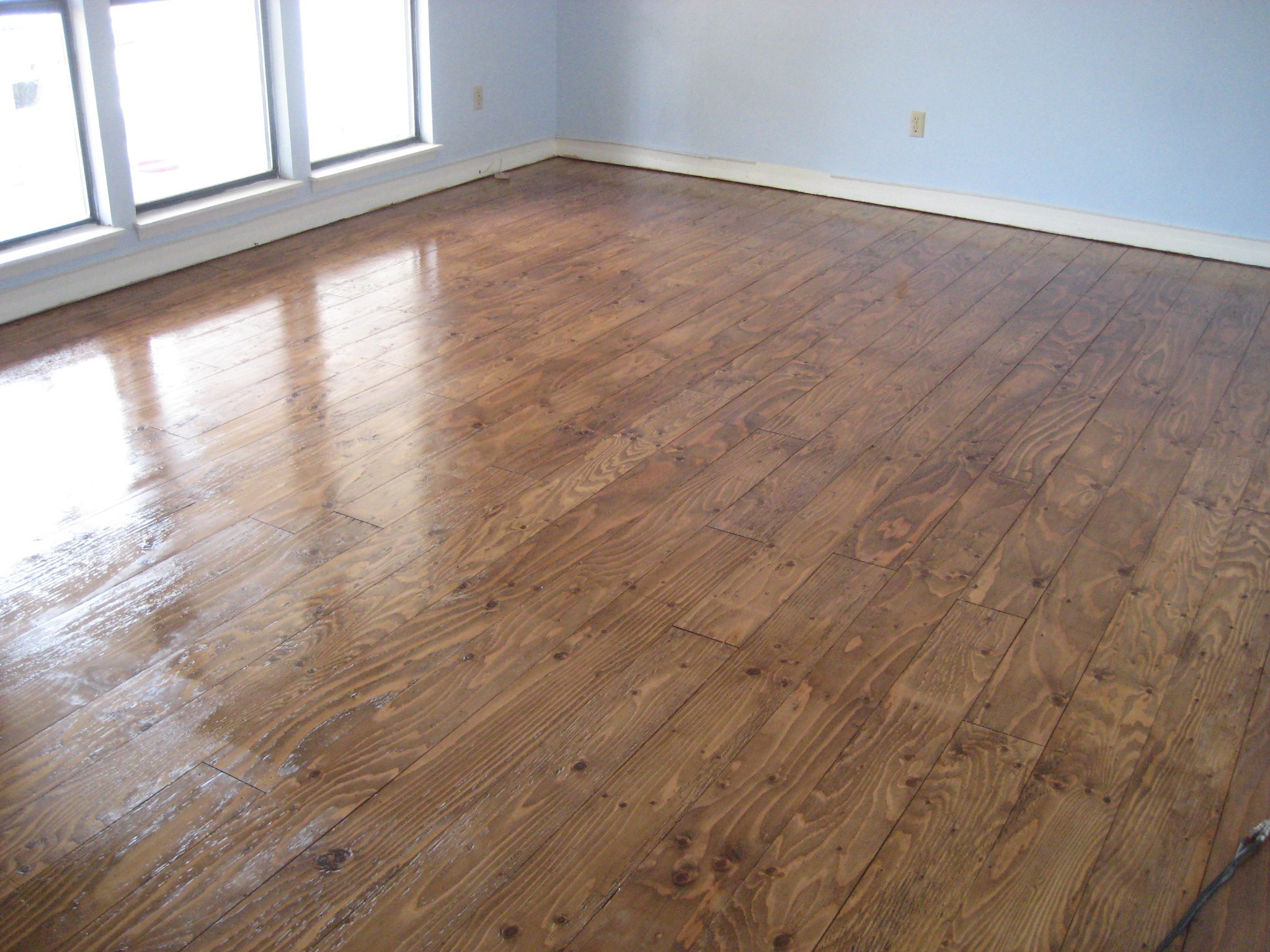 Best ideas about DIY Wood Floors Cheap . Save or Pin DIY Cheap Flooring Shabby GoatShabby Goat Now.