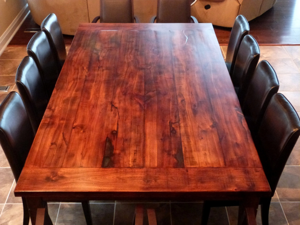 Best ideas about DIY Wood Table . Save or Pin How to Build a Dining Room Table 13 DIY Plans Now.