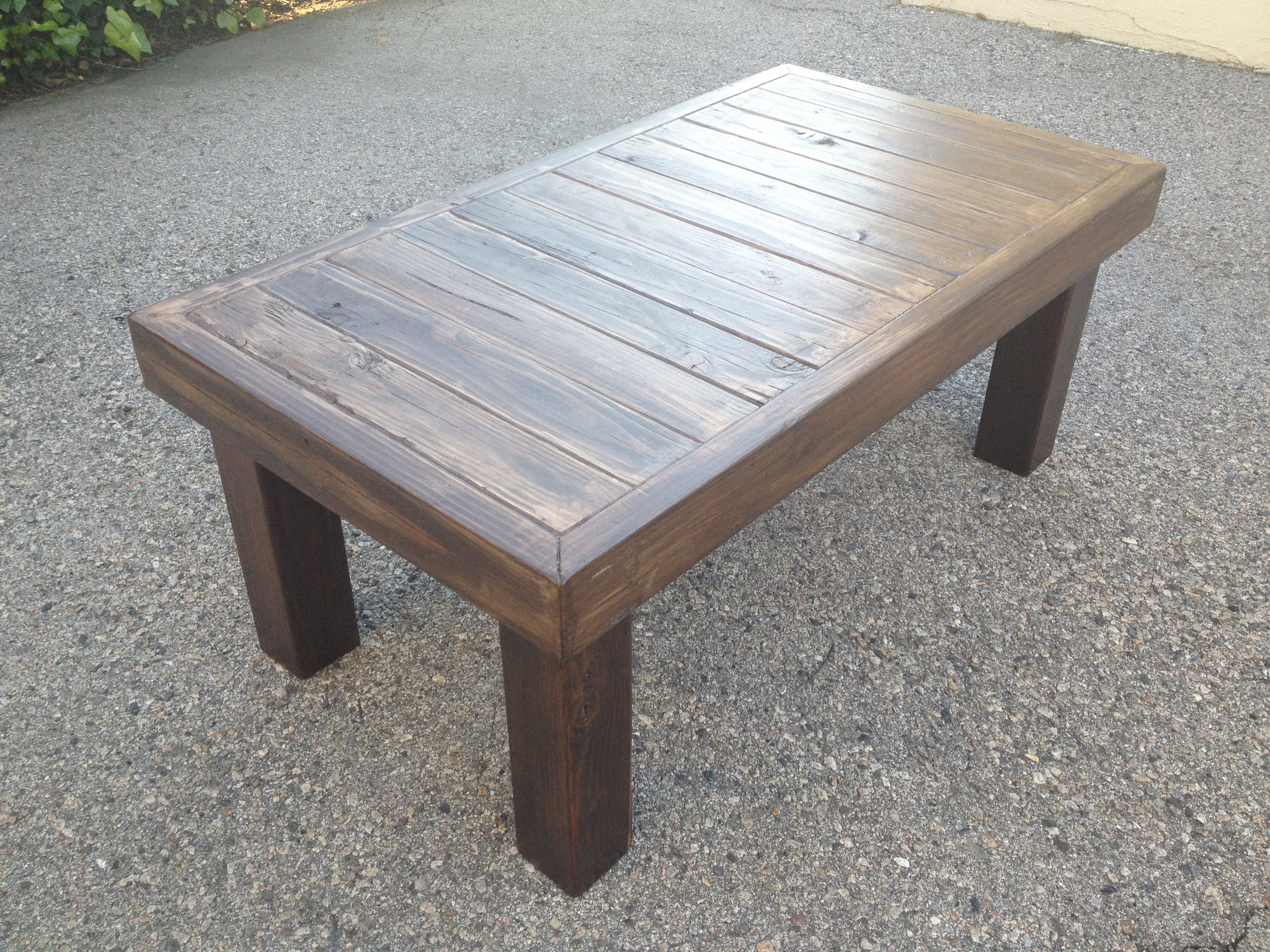 Best ideas about DIY Wood Table . Save or Pin PDF Wooden coffee table instructions DIY Free Plans Now.