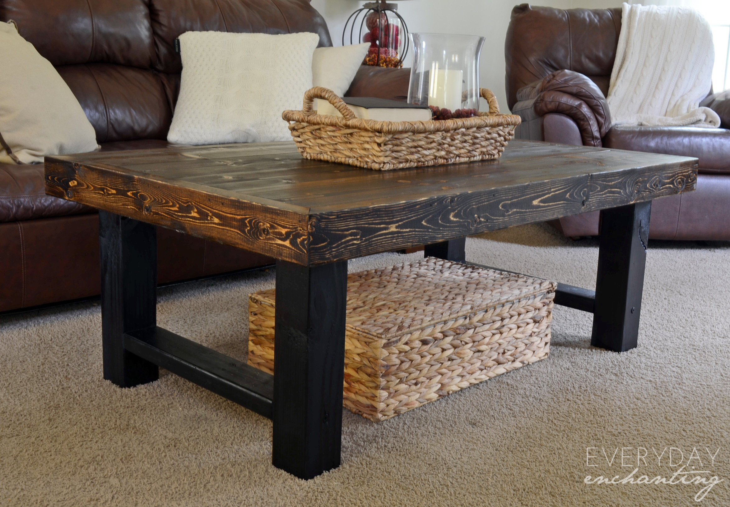 Best ideas about DIY Wood Table . Save or Pin Remodelaholic Now.