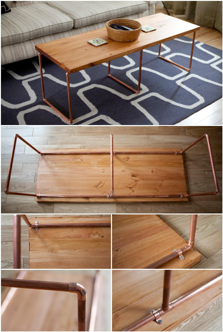 Best ideas about DIY Wood Table . Save or Pin 20 Easy & Free Plans to Build a DIY Coffee Table DIY Now.