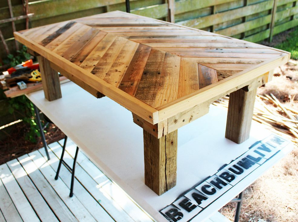 Best ideas about DIY Wood Table . Save or Pin diy wooden coffee table designs Now.