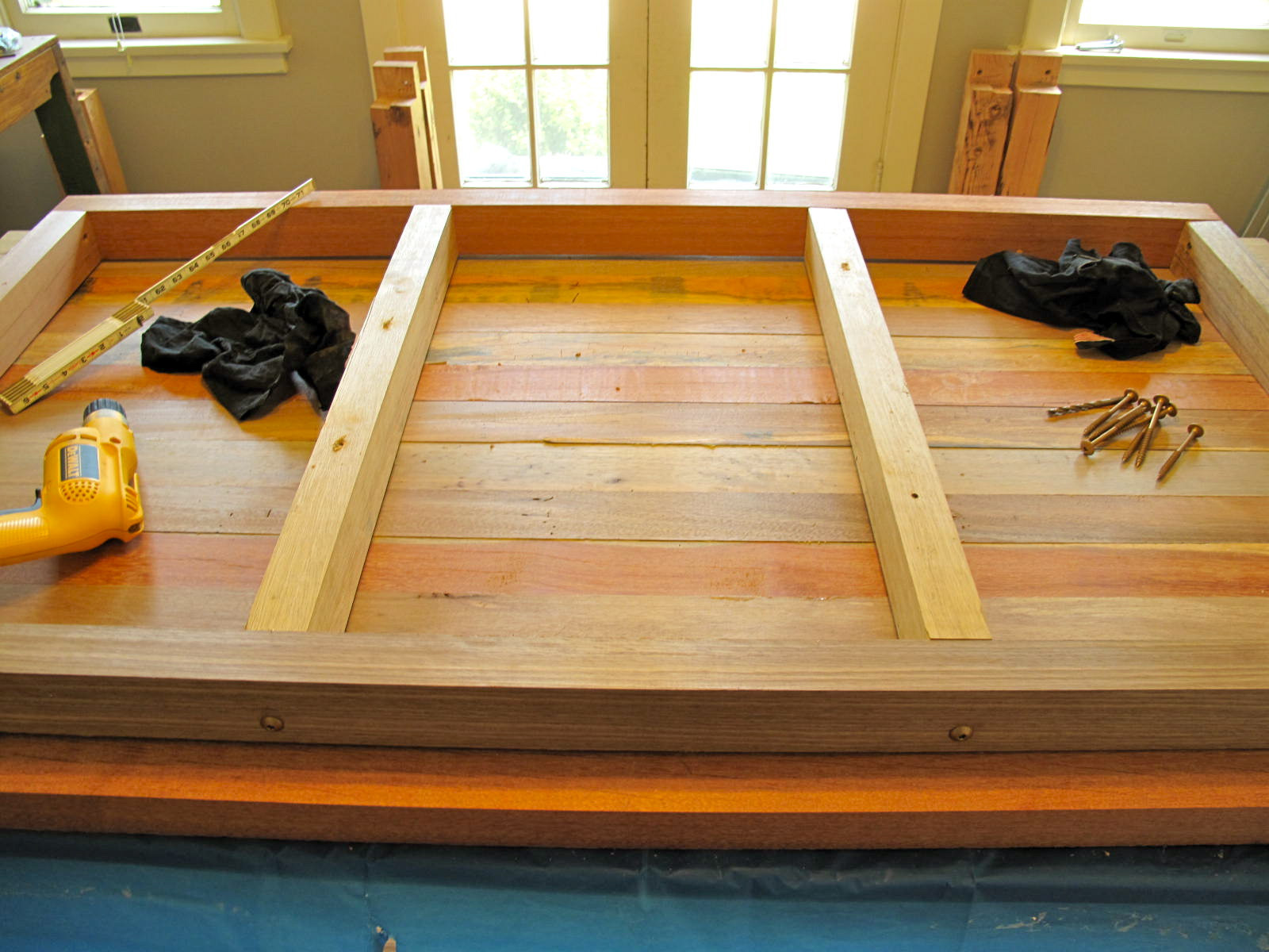 Best ideas about DIY Wood Table . Save or Pin DIY Reclaimed Wood Dining Table Now.