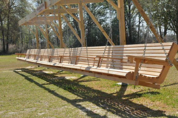 Best ideas about DIY Wooden Swing . Save or Pin Download How To Build A Wood Patio Swing Plans DIY Cradle Now.