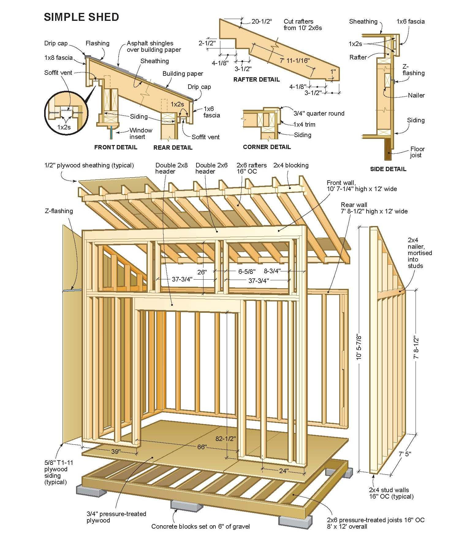 Best ideas about DIY Woodworking Plans . Save or Pin Woodwork Diy Free Shed Plans PDF Plans Now.