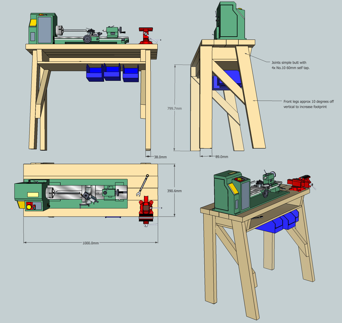 Best ideas about DIY Woodworking Plans . Save or Pin DIY Wood Lathe Stands PDF Download expedit bookcase plans Now.