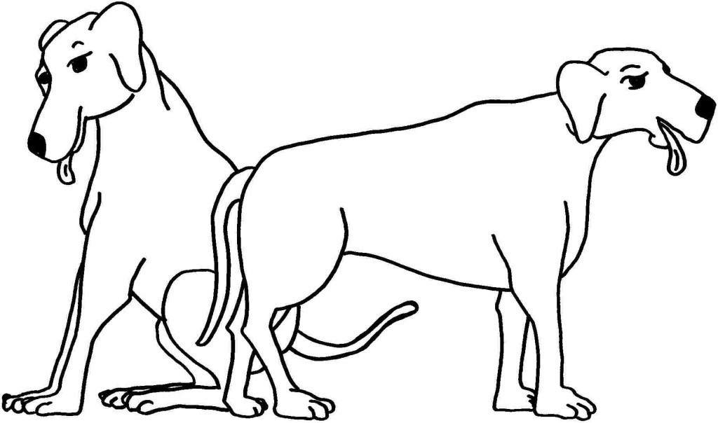 Best ideas about Dog Coloring Pages For Boys . Save or Pin Animal Dogs Coloring Pages Free Printable For Boys Girls Now.