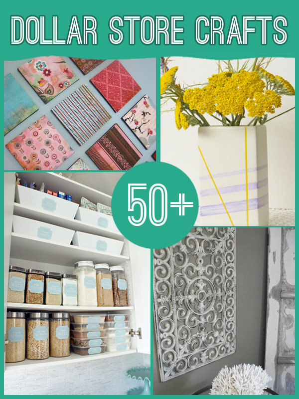 Best ideas about Dollar Tree Craft Ideas . Save or Pin 60 Projects to Make with Dollar Store Supplies Now.