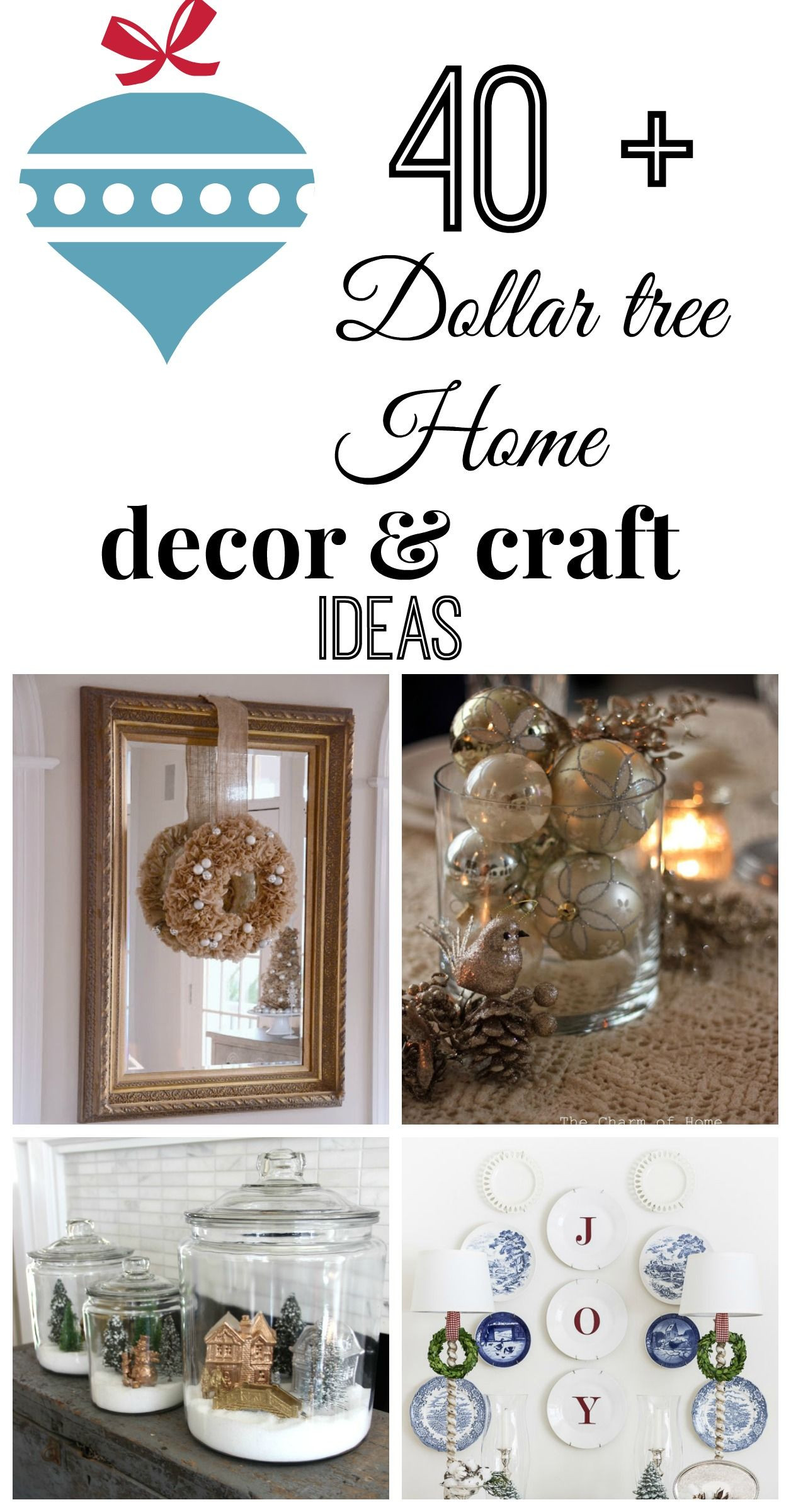 Best ideas about Dollar Tree Craft Ideas . Save or Pin All things Dollar tree Christmas party Now.