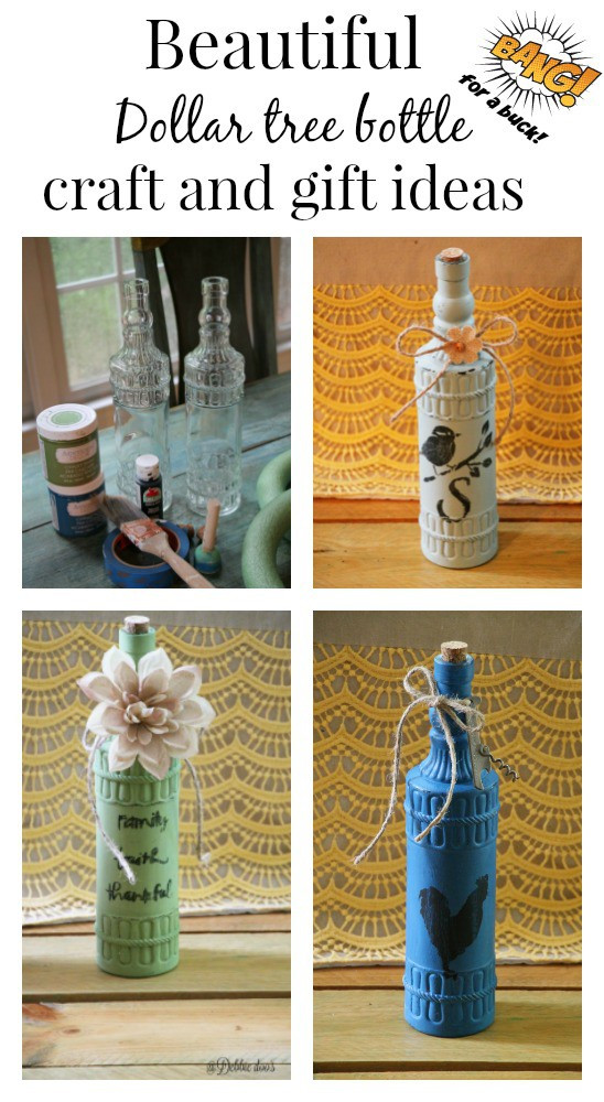 Best ideas about Dollar Tree Craft Ideas . Save or Pin Crafting with dollar tree bottles Debbiedoos Now.