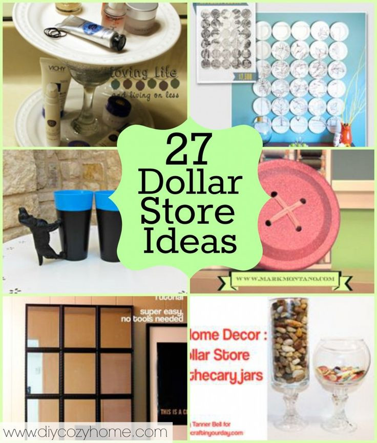 Best ideas about Dollar Tree Craft Ideas . Save or Pin Over 90 Dollar Store Crafts to Make with 2 Roundups Now.