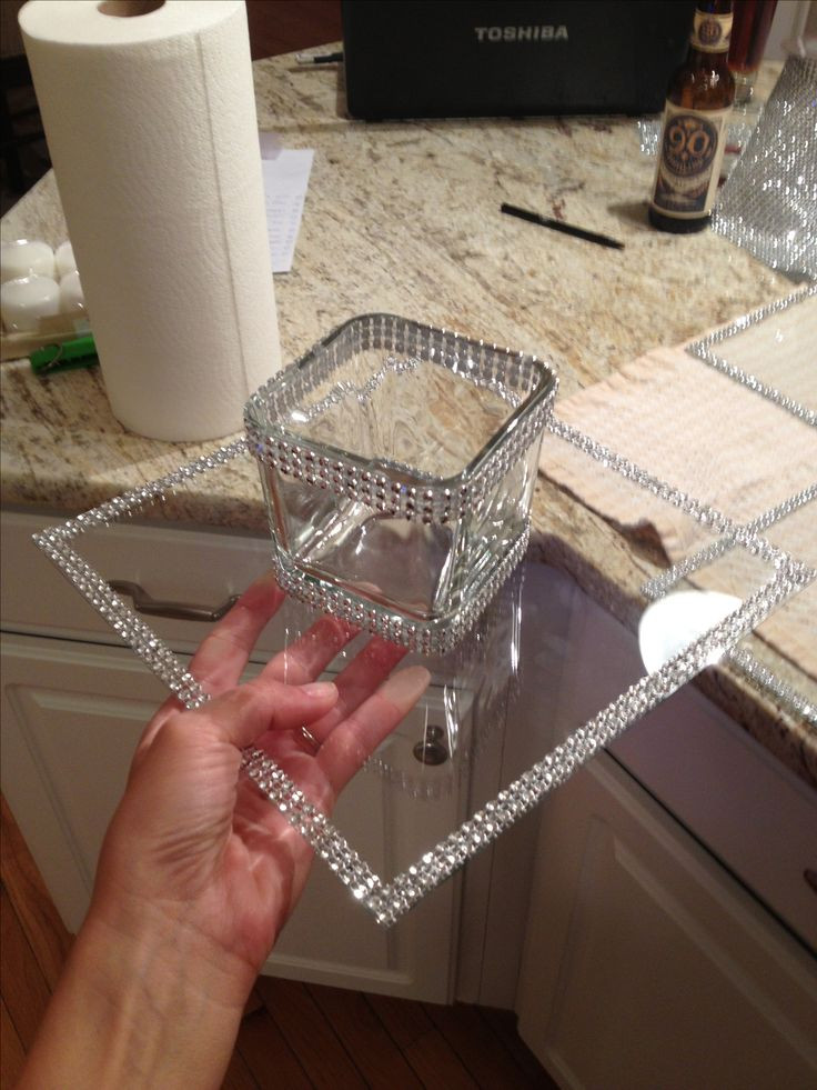 Best ideas about Dollar Tree Craft Ideas . Save or Pin Dollar tree crafts – clear glass from pic frame and votive Now.