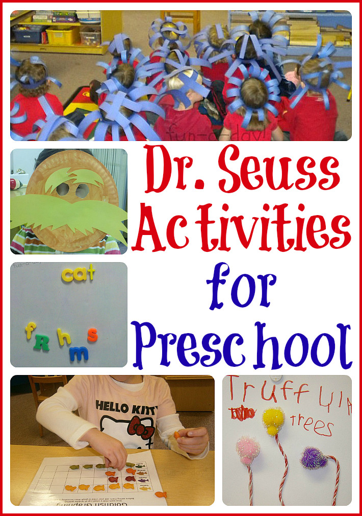 Best ideas about Dr Seuss Craft Ideas For Preschoolers . Save or Pin 15 Dr Seuss Activities for Preschool Now.