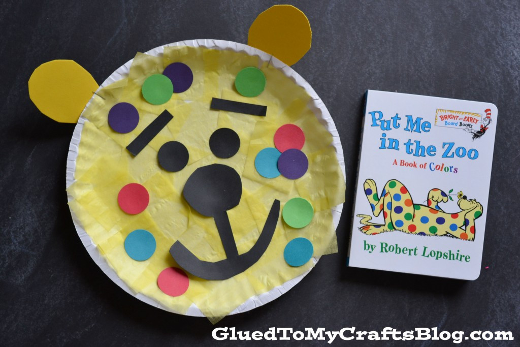 Best ideas about Dr Seuss Craft Ideas For Preschoolers . Save or Pin Dr Seuss Inspired Leopard Kid Craft Now.