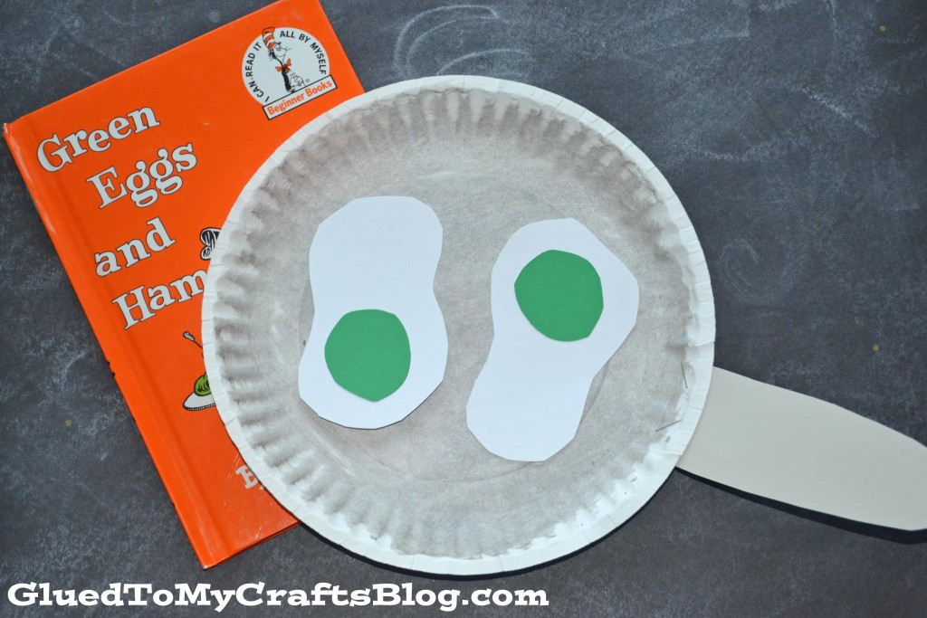 Best ideas about Dr Seuss Craft Ideas For Preschoolers . Save or Pin Paper Plate Dr Seuss Green Eggs Kid Craft Glued To My Now.