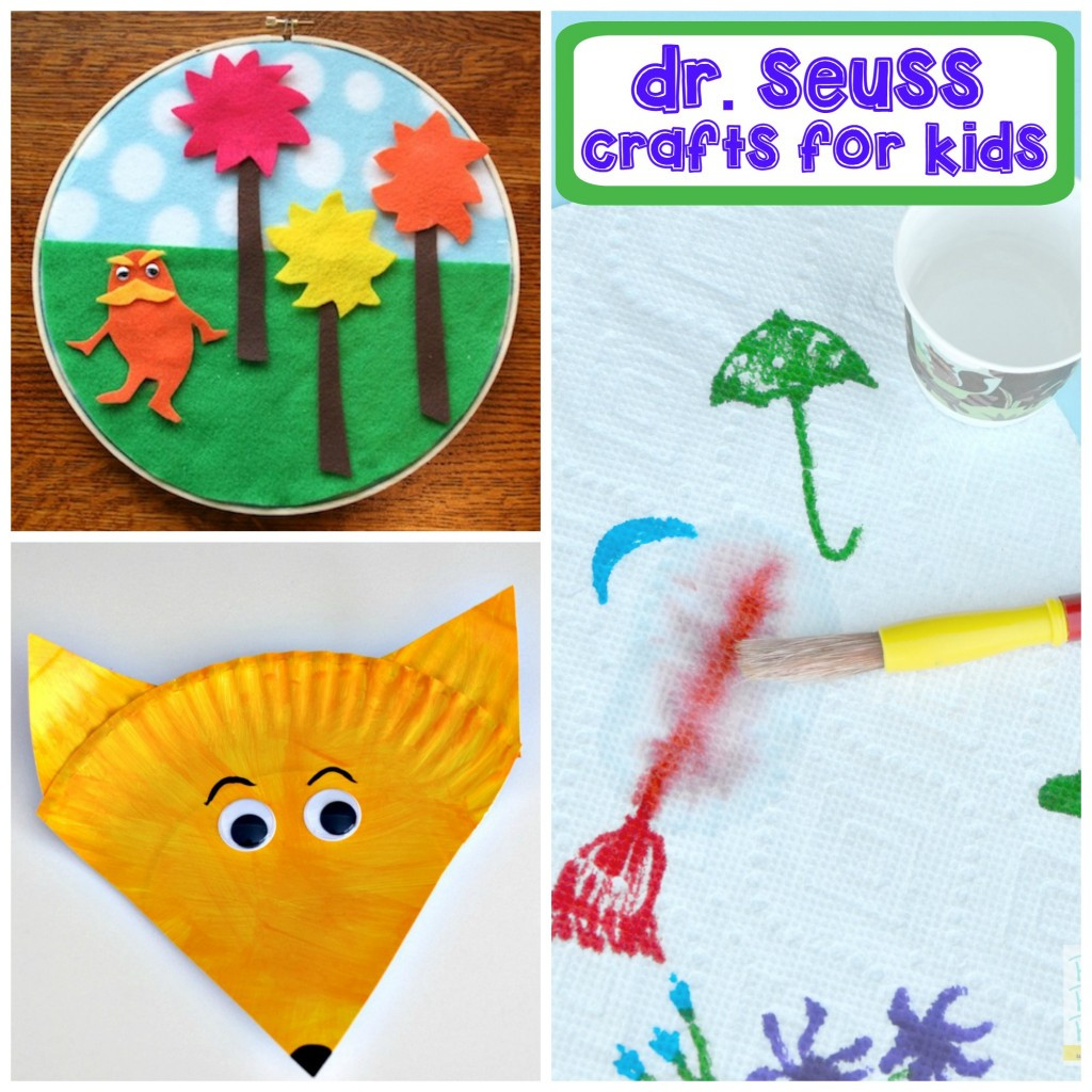 Best ideas about Dr Seuss Craft Ideas For Preschoolers . Save or Pin Dr Seuss Activities for Kids Now.