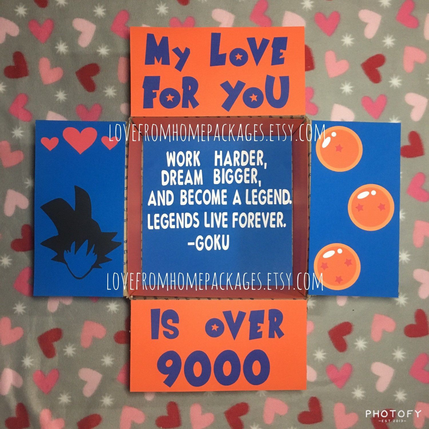 Best ideas about Dragon Ball Z Gift Ideas For Boyfriend . Save or Pin Custom Order Care Package Flaps Now.