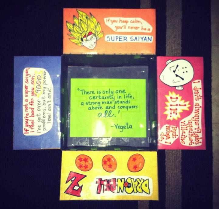 Best ideas about Dragon Ball Z Gift Ideas For Boyfriend . Save or Pin My Dragon Ball Z care package for the hubby Now.