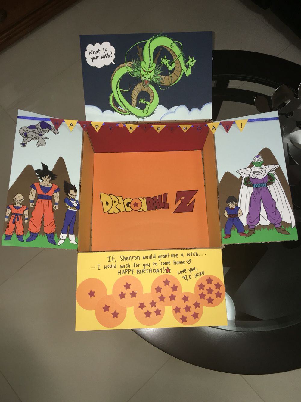 Best ideas about Dragon Ball Z Gift Ideas For Boyfriend . Save or Pin DBZ themed Birthday Care package Now.