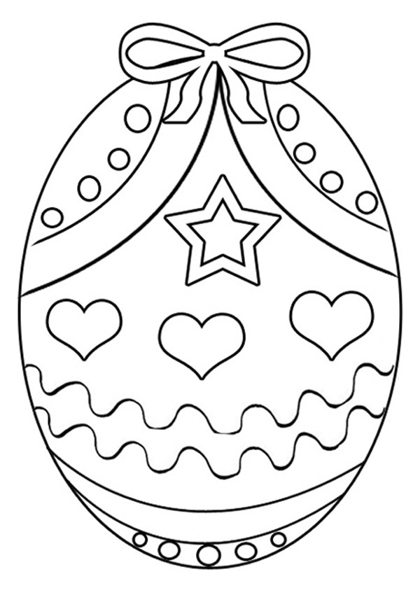 Best ideas about Easter Coloring Sheets For Kids . Save or Pin Free Printable Easter Egg Coloring Pages For Kids Now.
