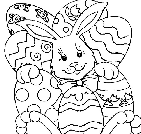 Best ideas about Easter Coloring Sheets For Kids . Save or Pin Easter Holiday Coloring Pages For Kids family holiday Now.