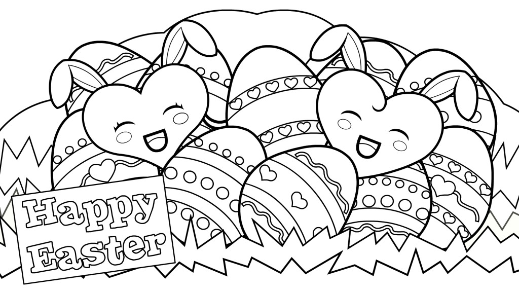 Best ideas about Easter Coloring Sheets For Kids . Save or Pin Happy Easter Coloring Pages Best Coloring Pages For Kids Now.