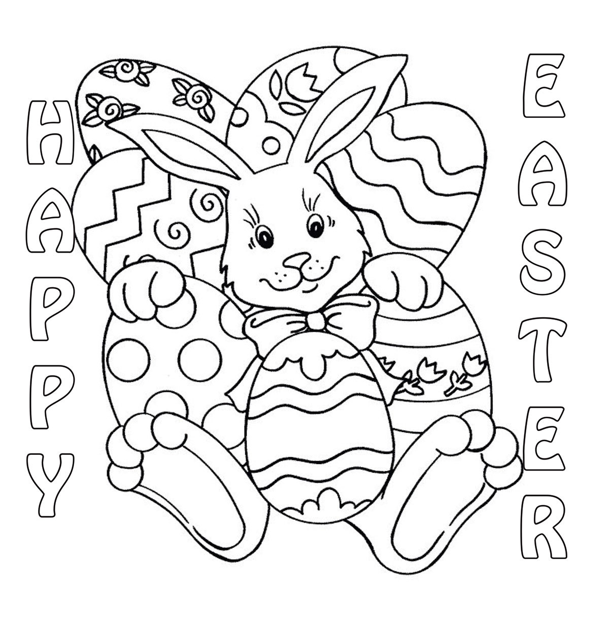 Best ideas about Easter Coloring Sheets For Kids . Save or Pin Easter Coloring Contest 2014 Now.