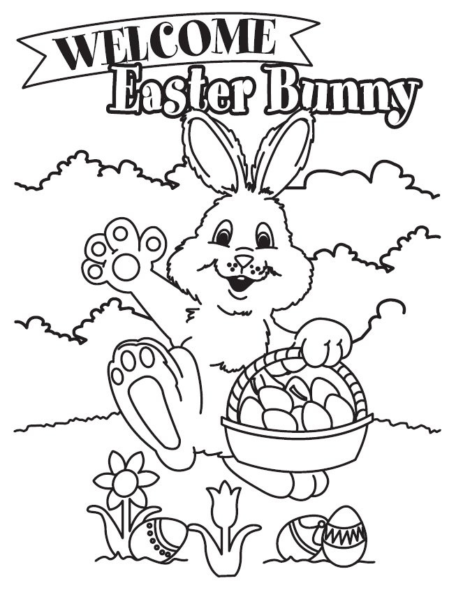 Best ideas about Easter Coloring Sheets For Kids . Save or Pin Free Printable Easter Bunny Coloring Pages For Kids Now.