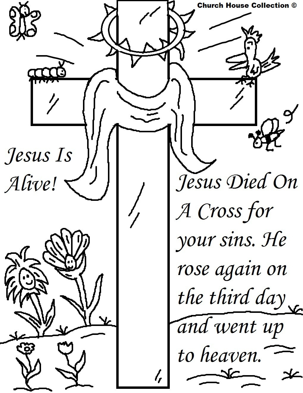 Best ideas about Easter Jesus Free Coloring Sheets . Save or Pin 25 Religious Easter Coloring Pages Now.