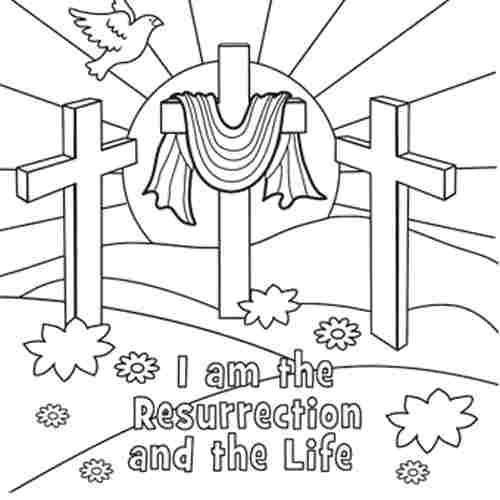Best ideas about Easter Jesus Free Coloring Sheets . Save or Pin easter religious coloring page Now.