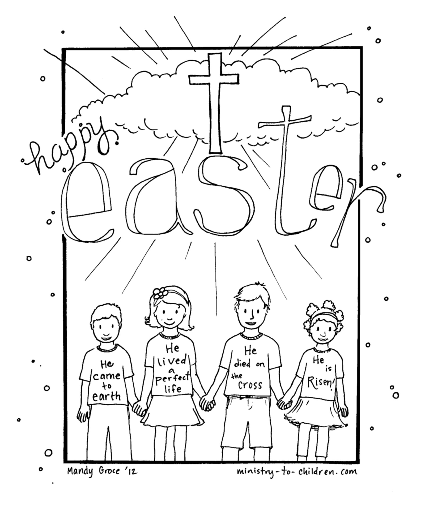 Best ideas about Easter Jesus Free Coloring Sheets . Save or Pin Christian Coloring Pages For Easter – Color Bros Now.