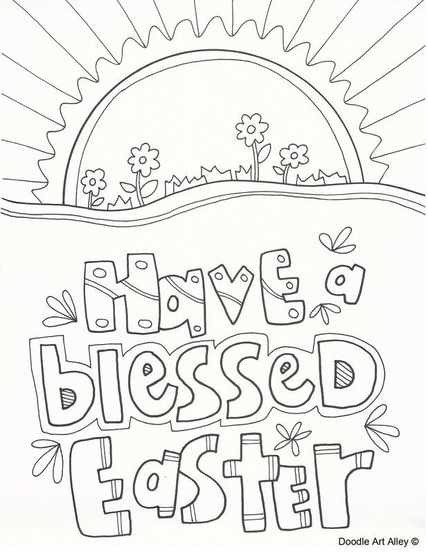 Best ideas about Easter Jesus Free Coloring Sheets . Save or Pin 17 Best images about Religious Doodles on Pinterest Now.