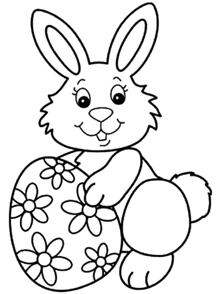 Best ideas about Easter Rabbit Printable Coloring Pages . Save or Pin Easter Bunny coloring pages Free Printable Easter Bunny Now.
