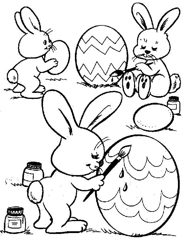 Best ideas about Easter Rabbit Printable Coloring Pages . Save or Pin Free Printable Easter Bunny Coloring Pages For Kids Now.