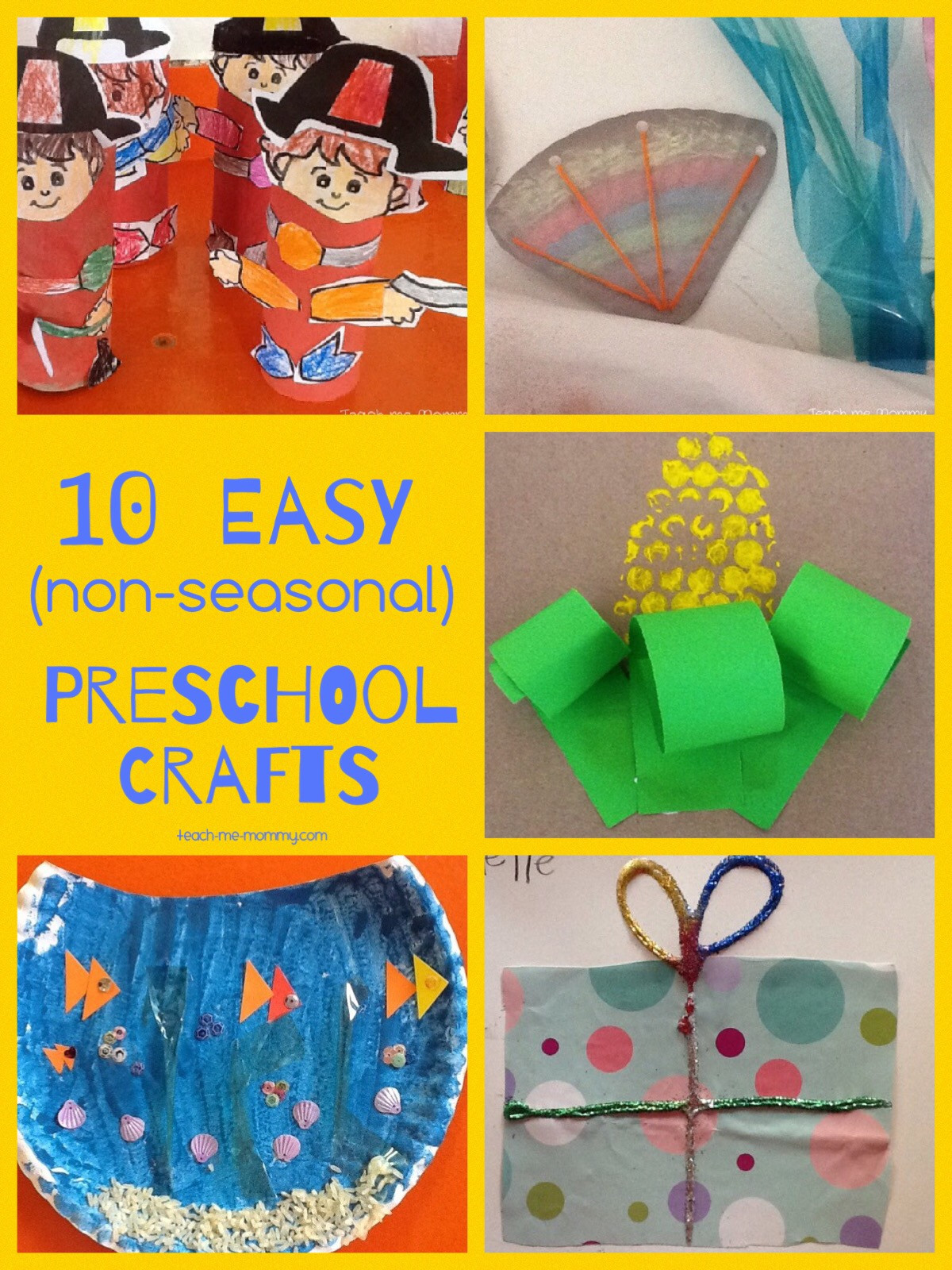 Best ideas about Easy Activities For Preschoolers . Save or Pin Easy Crafts for Preschoolers Teach Me Mommy Now.