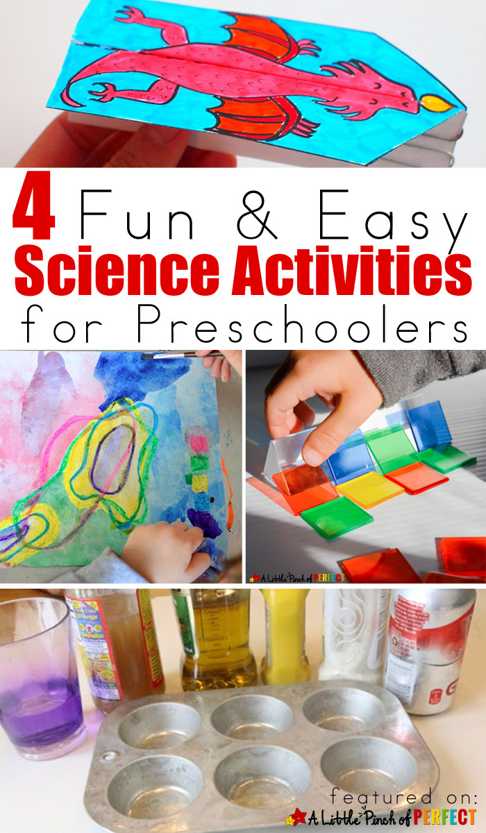 Best ideas about Easy Activities For Preschoolers . Save or Pin 4 Fun & Easy Science Activities for Preschoolers Now.