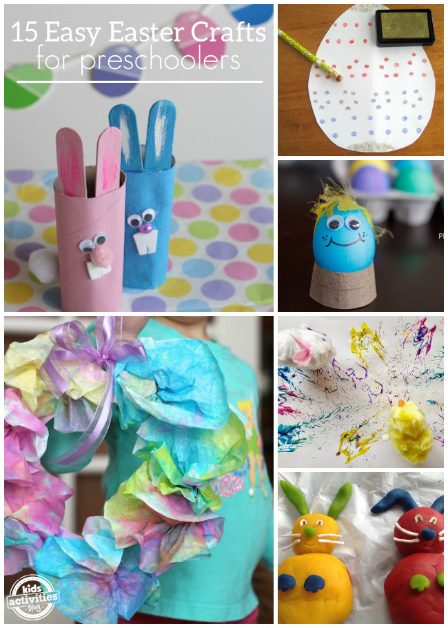 Best ideas about Easy Activities For Preschoolers . Save or Pin 15 Easy Easter Crafts for Preschoolers Now.