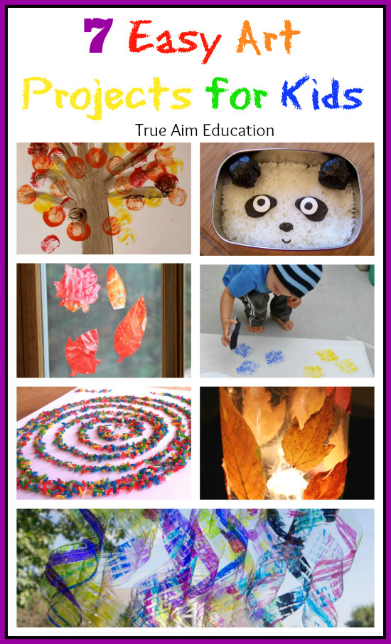 Best ideas about Easy Art Activities Preschoolers . Save or Pin 7 Easy Art Activities for Kids and Mom s Library 60 Now.