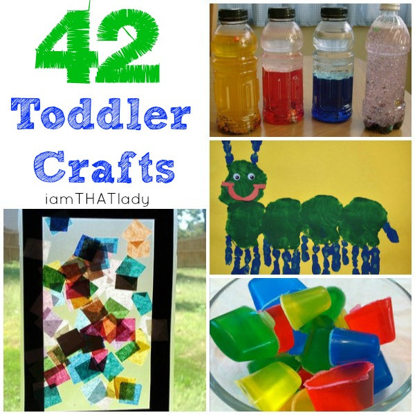 Best ideas about Easy Art Activities Preschoolers . Save or Pin Easy toddler crafts Now.