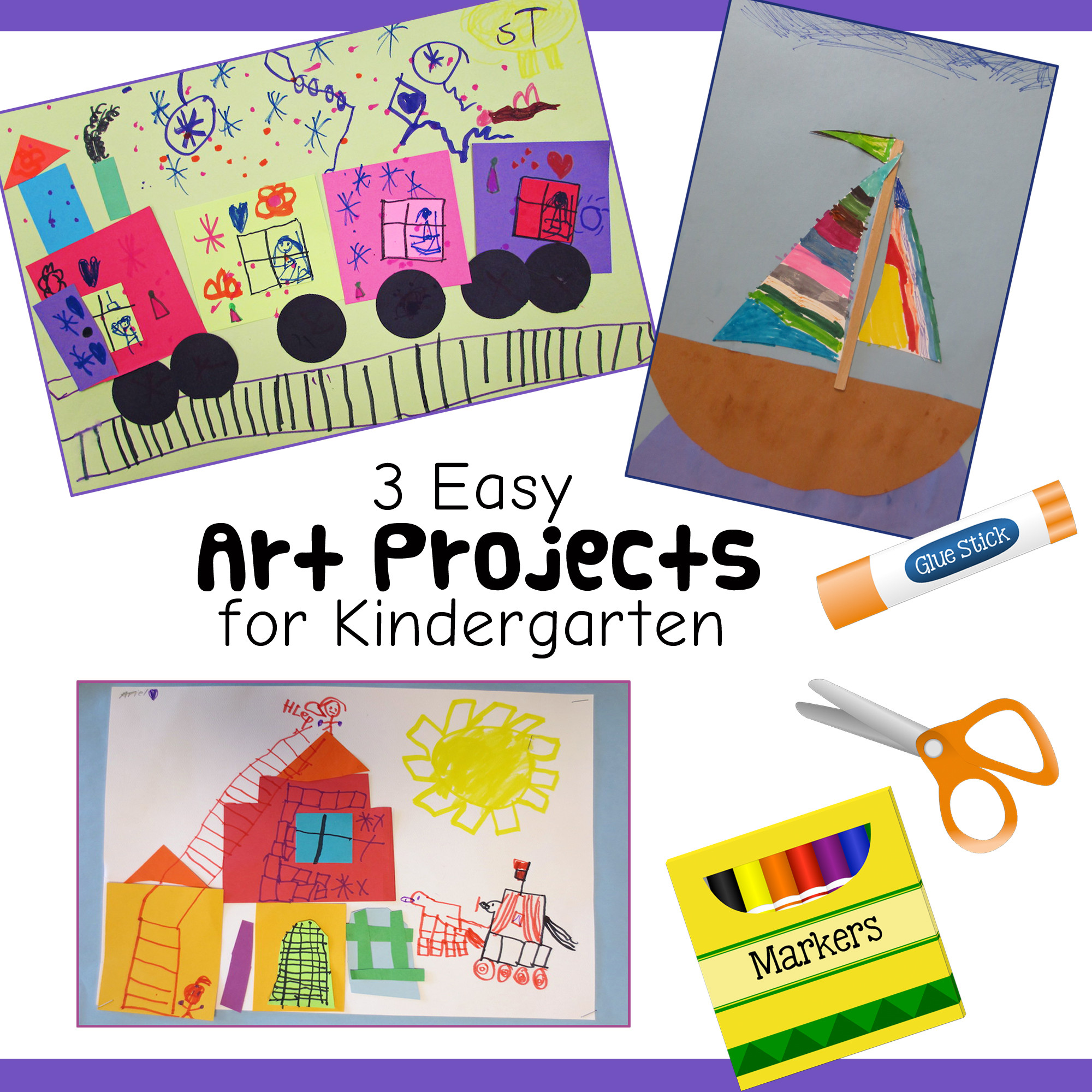 Best ideas about Easy Art Activities Preschoolers . Save or Pin 3 Fun and Easy Kindergarten Art Lessons Now.