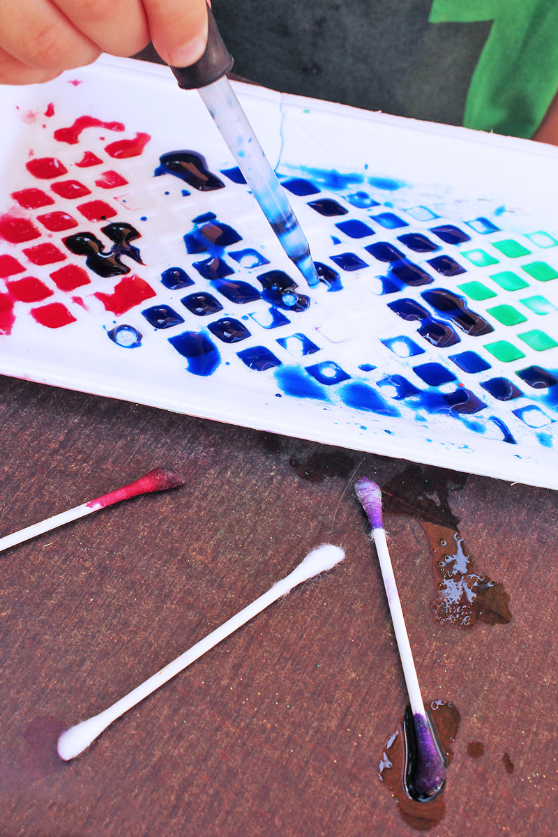 Best ideas about Easy Art Activities Preschoolers . Save or Pin Art Activities for Kids Styrofoam Patterns Now.