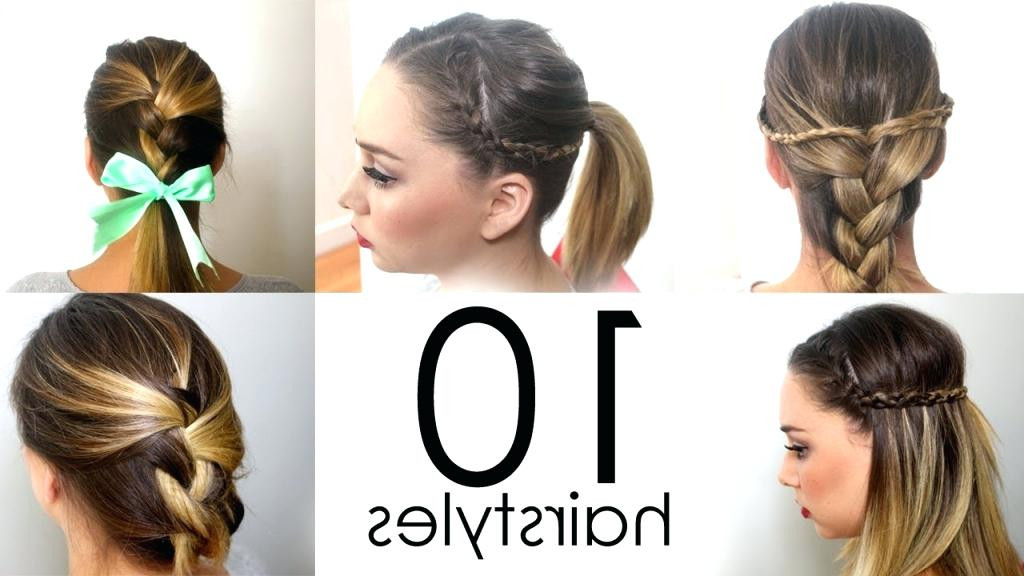 Best ideas about Easy Hairstyles For Church . Save or Pin Cute Quick Hairstyles For Church HairStyles Now.