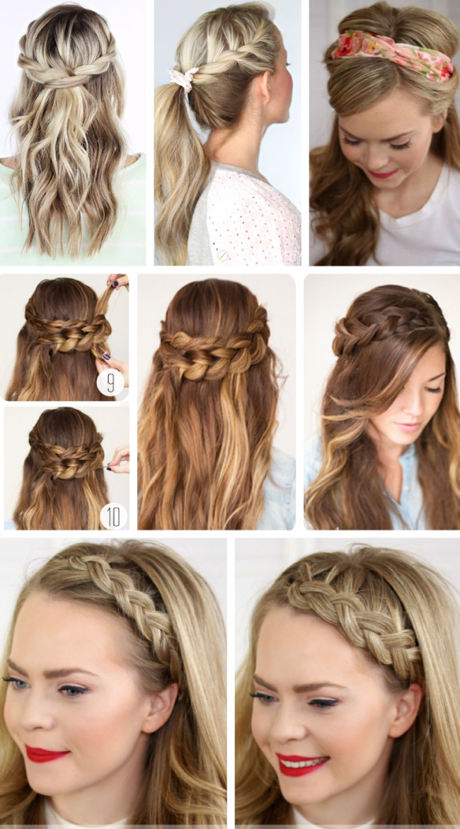 Best ideas about Easy Hairstyles For Party . Save or Pin Party Hairstyles for Long Hair Using Step by Step For 2017 Now.