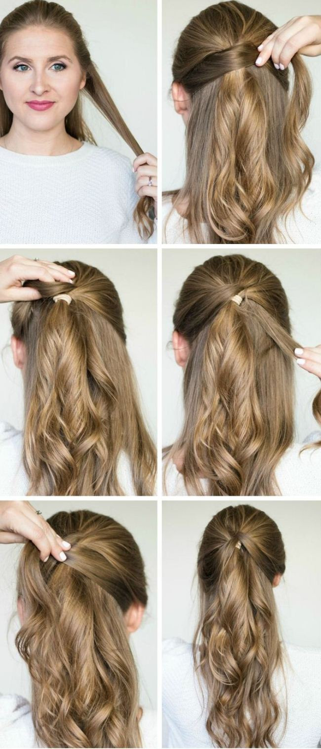 Best ideas about Easy Hairstyles For Party . Save or Pin I Want To Do Easy Party Hairstyles For Long Hair Step By Now.