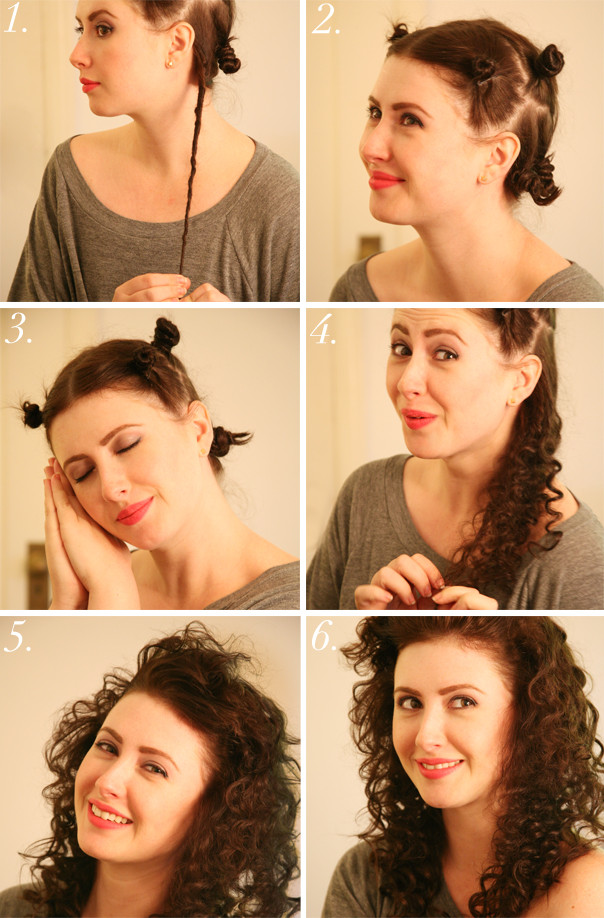 Best ideas about Easy Overnight Hairstyles . Save or Pin 1980s Hair Tutorial Now.