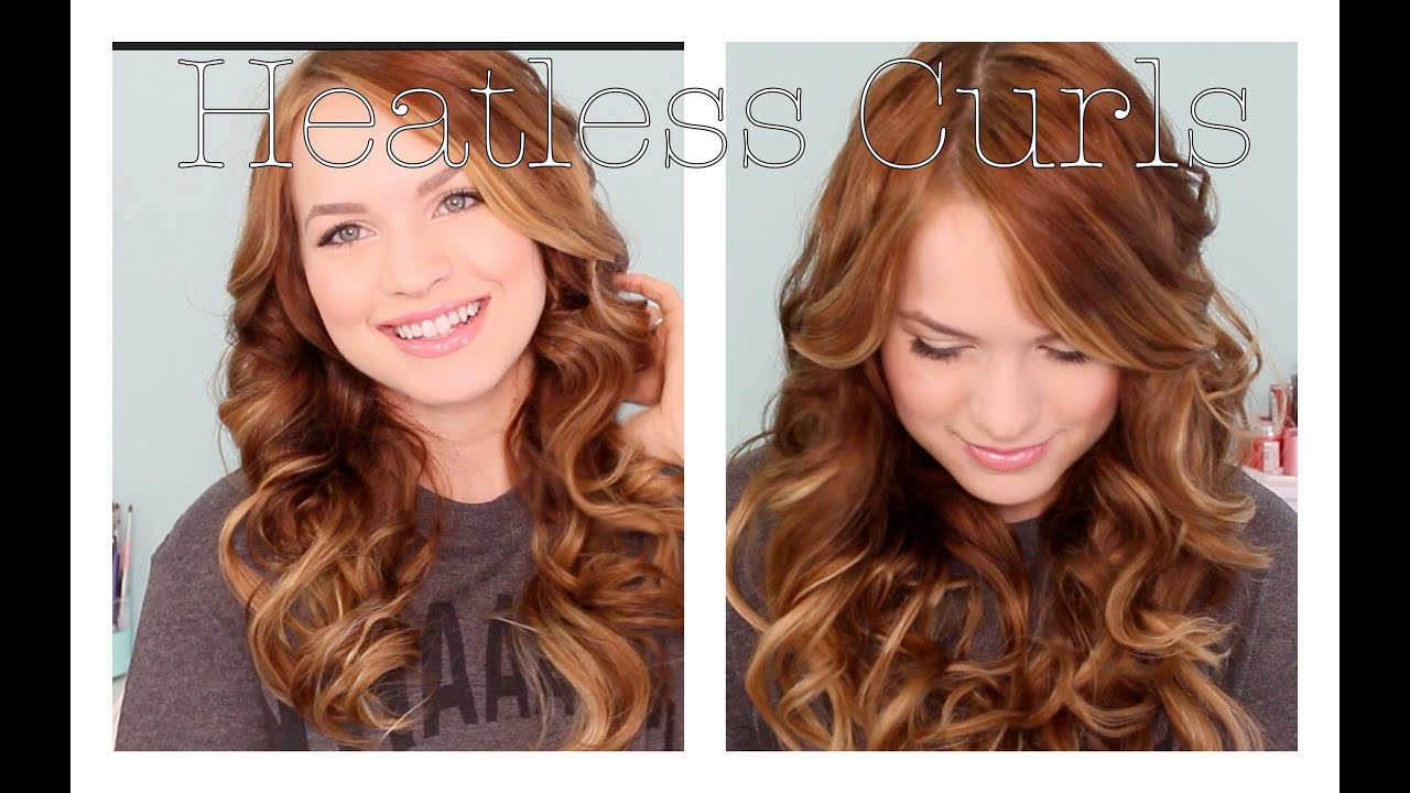 Best ideas about Easy Overnight Hairstyles . Save or Pin Back to School Heatless Curls Now.