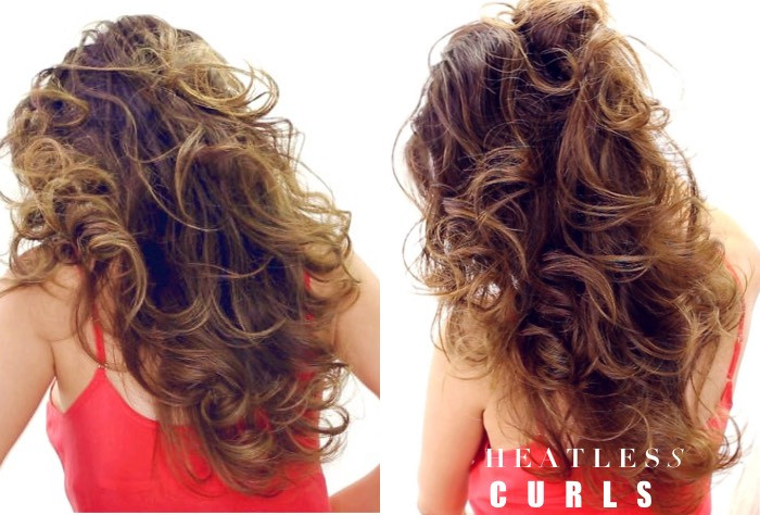 Best ideas about Easy Overnight Hairstyles . Save or Pin Lazy Heatless Curls Overnight Now.