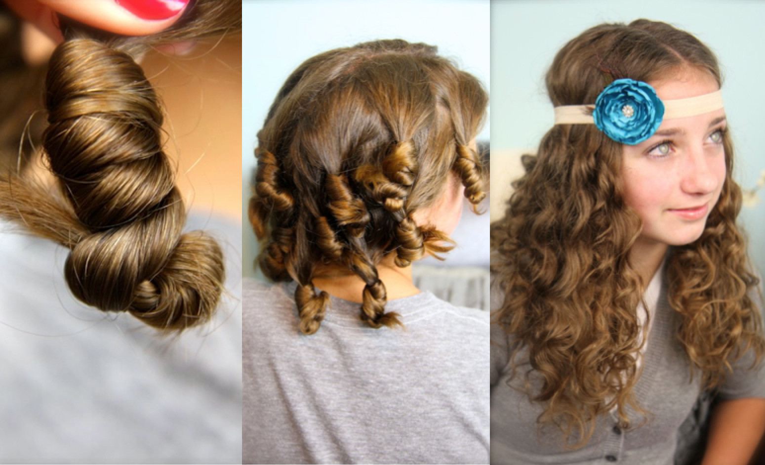 Best ideas about Easy Overnight Hairstyles . Save or Pin Cocoon Curls No Heat Curl Hairstyles Now.